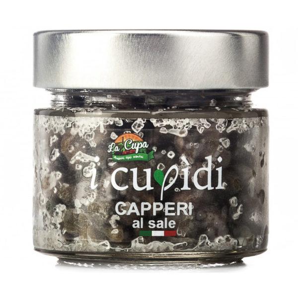 La Cupa prodotti agricoli tipici salentini capperi al sale vaso