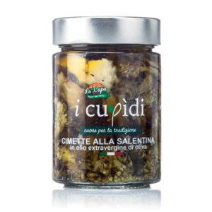 La Cupa prodotti agricoli tipici salentini cimette alla salentina in vaso 300 gr