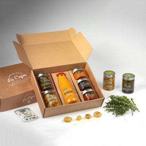 La Cupa prodotti agricoli tipici salentini cofanetto armonia dei sapori