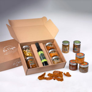 La cupa prodotti agricoli tipici salentini cofanetto oro del salento