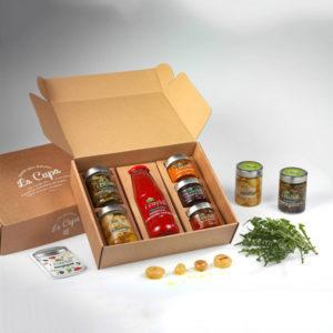 La Cupa prodotti agricoli tipici salentini cofanetto tradizioni salentine