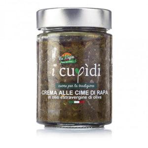 La Cupa prodotti agricoli tipici salentini crema alle cime di rapa vaso