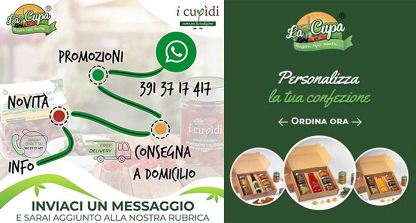 La Cupa prodotti agricoli tipici salentini free delivery