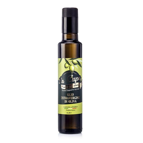 La Cupa prodotti agricoli tipici salentini olio extravergine di oliva bottiglia 25 ml