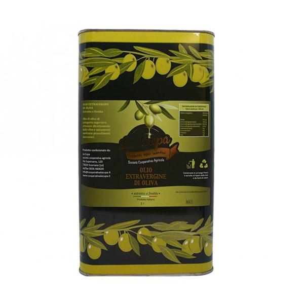 La Cupa prodotti agricoli tipici salentini olio extravergine di oliva latta