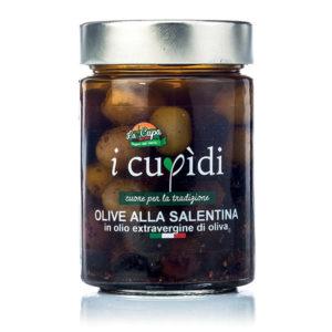 La Cupa prodotti agricoli tipici salentini olive alla salentina 300 gr