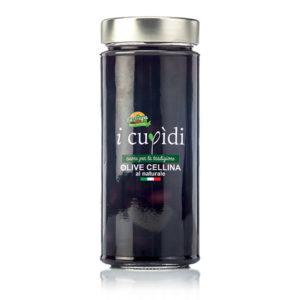 La Cupa prodotti agricoli tipici salentini olive cellina al naturale in vaso 300 gr
