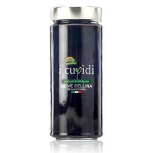 La Cupa prodotti agricoli tipici salentini olive cellina denocciolate in vaso 270 gr