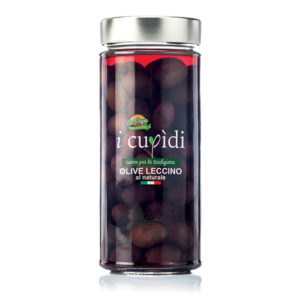 La Cupa prodotti agricoli tipici salentini olive leccino al naturale in vaso 300 gr
