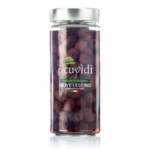 La Cupa prodotti agricoli tipici salentini olive leccino denocciolate in vaso 270 gr