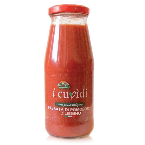 La Cupa prodotti agricoli tipici salentini passata di pomodoro ciliegino in bottiglia
