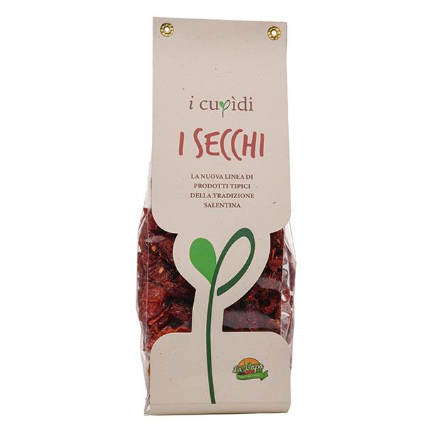 La Cupa prodotti agricoli tipici salentini pomodori ciliegino secchi in busta 250 gr