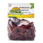 La Cupa prodotti agricoli tipici salentini pomodori tombolone secchi in busta 250 gr