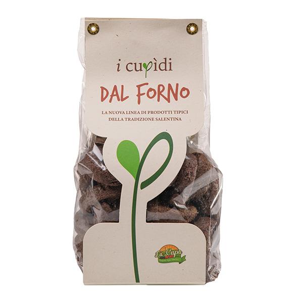 La Cupa prodotti agricoli tipici salentini tarallini alla crema di olive in busta 250 gr